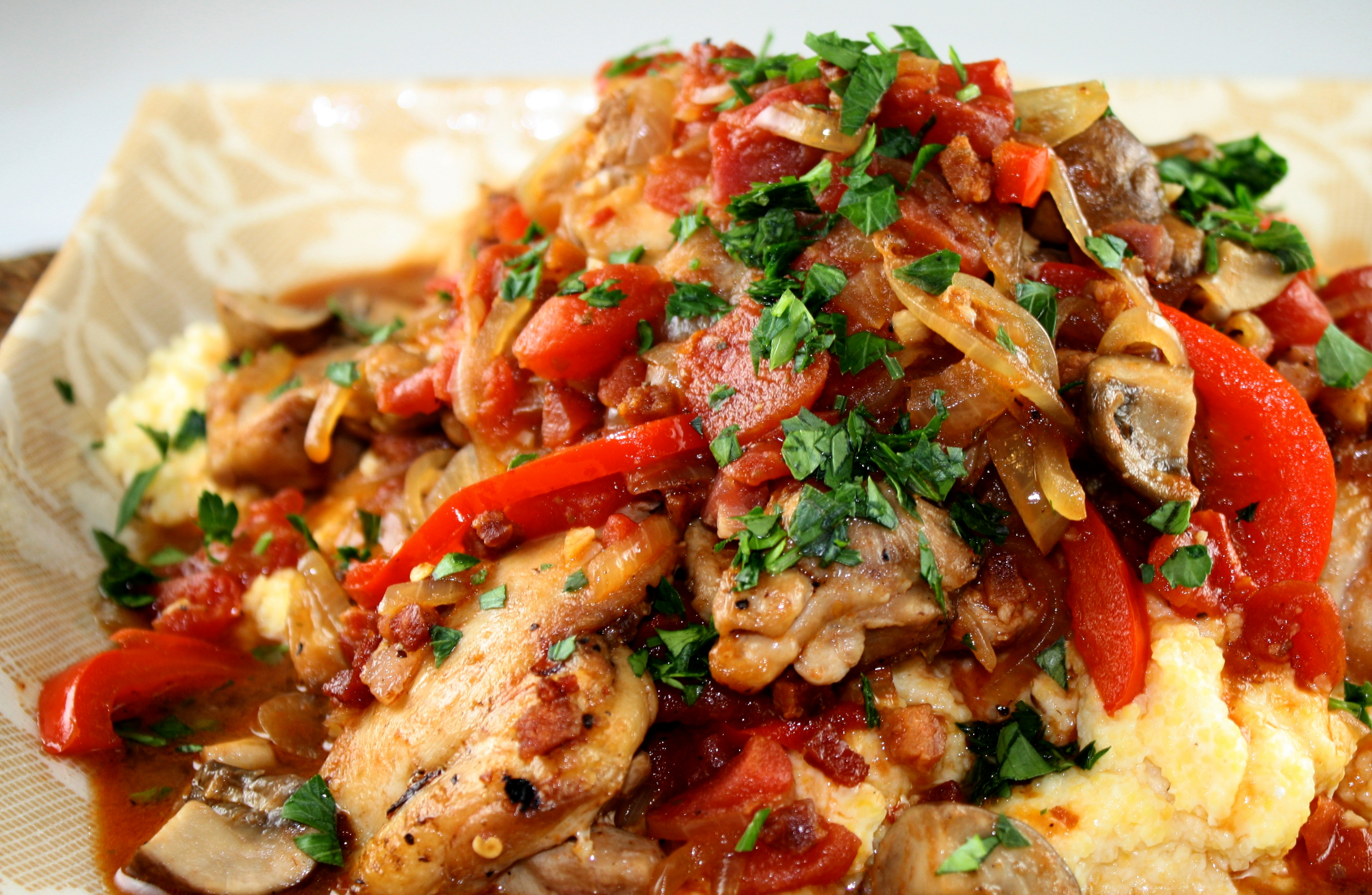 Food So Good Mall: Spicy Chicken Cacciatore